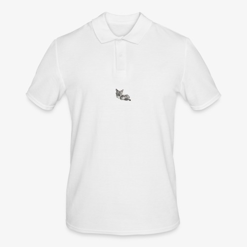 Snow and her baby - Men's Polo Shirt