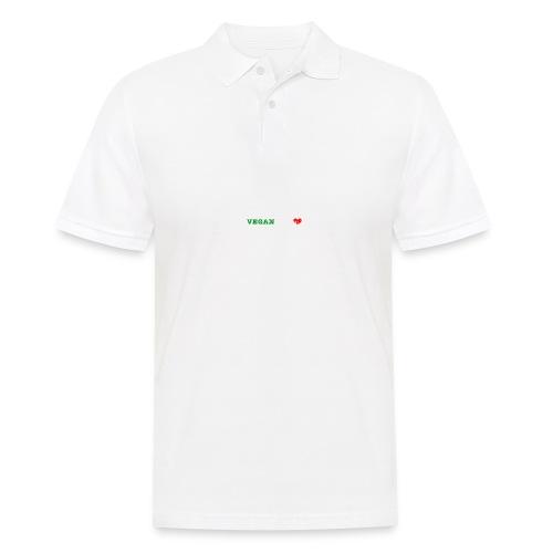 be my VEGANtine - white - Men's Polo Shirt