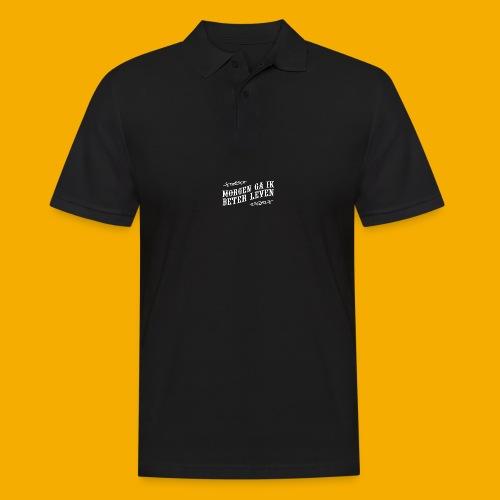 tshirt wht 01 png - Mannen poloshirt