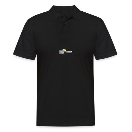 Philippinen-Blog Logo deutsch schwarz/weiss - Männer Poloshirt