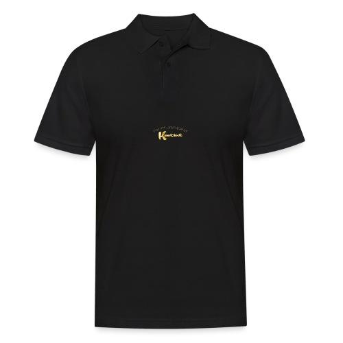 KnutstockAnniversaryLogo Text - Männer Poloshirt