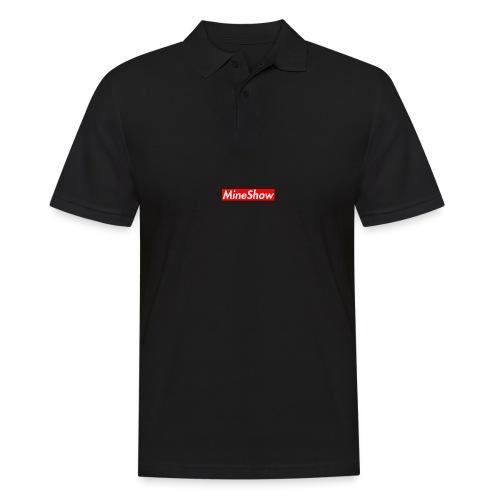 MineShow Box-Logo - Männer Poloshirt