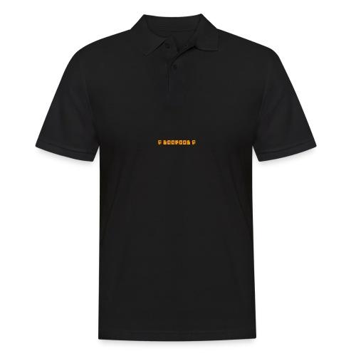 P loofool P - Orange logo - Poloskjorte for menn