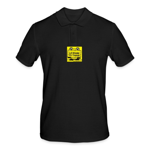 Licence to Think - Men's Polo Shirt