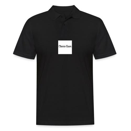 Classy Guys Simple Name - Men's Polo Shirt