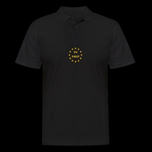 EU First Europe First - Männer Poloshirt