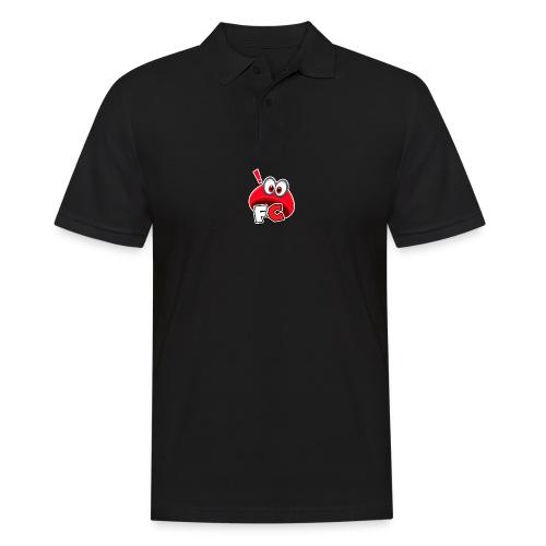 Flying Cappys Logo! - Männer Poloshirt