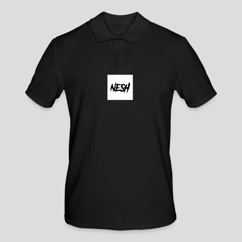 Nesh Logo - Männer Poloshirt