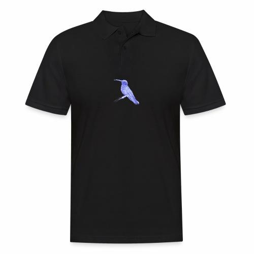 Hummingbird with ballpoint pen - Men's Polo Shirt