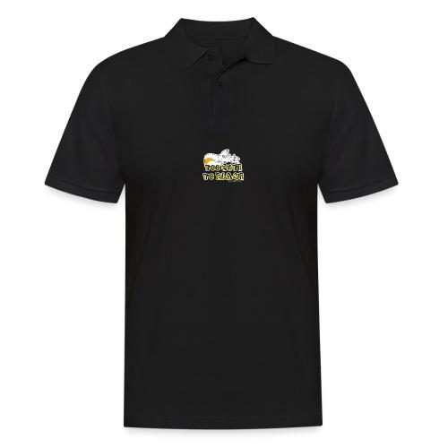 Too Cute To Blame - Men's Polo Shirt