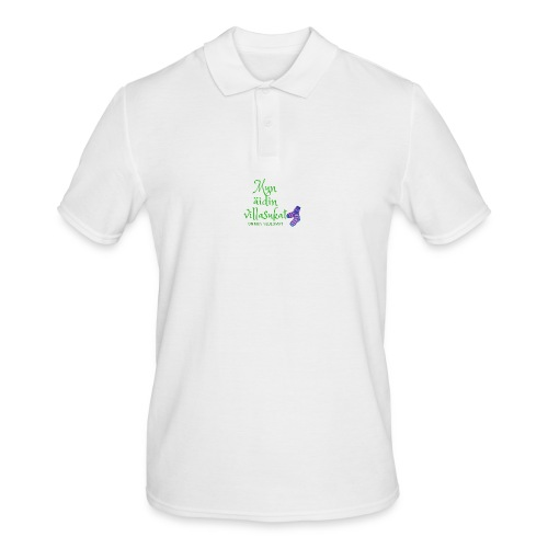 Mun äidin villasukat on mun neulomat - Men's Polo Shirt