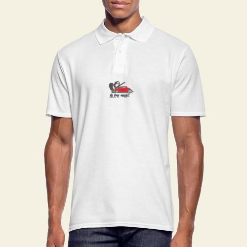 v8 true music - Herre poloshirt