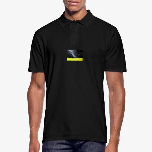 Oryginalny obraz Cisza - Koszulka polo męska
