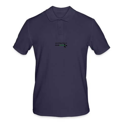 Understand Nature. Think Green! - Men's Polo Shirt