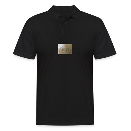 Miggy Trumpet new logo - Männer Poloshirt