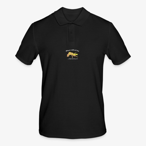Whopper weight pull dogs - Men's Polo Shirt