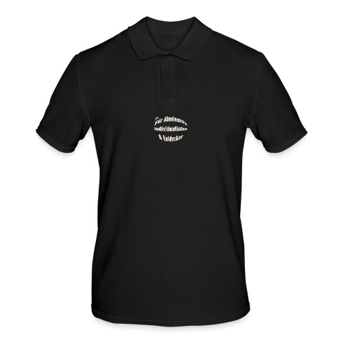 Abenteuerer Individualisten & Entdecker - Männer Poloshirt