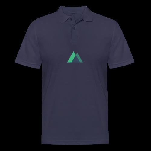 Mountain Logo - Men's Polo Shirt