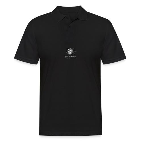 Stop Thinking - Männer Poloshirt