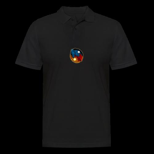 Day and Night / Sun and Moon - Männer Poloshirt