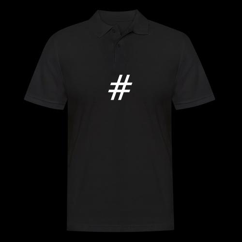 Hashtag Team - Männer Poloshirt