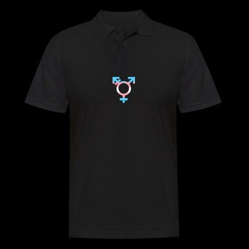 transgender symbol - Koszulka polo męska