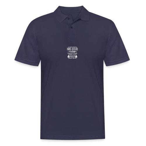 I hate to advocate drugs - Poloskjorte for menn