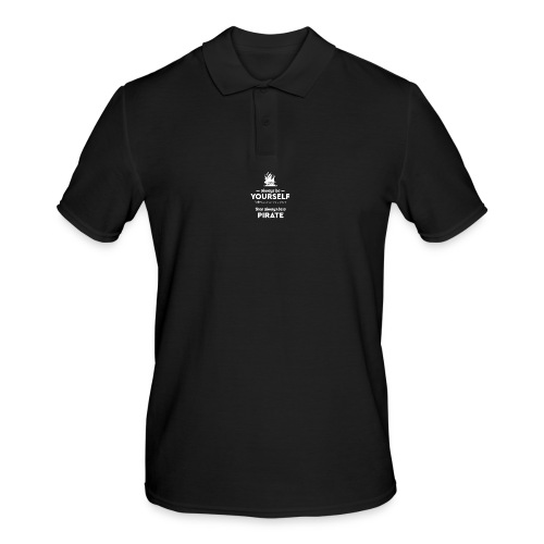 Be a pirate! (light version) - Men's Polo Shirt