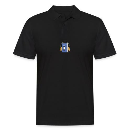 Stereo walkman in blue - Men's Polo Shirt