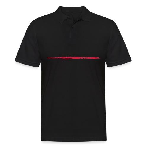 Linie_01 - Männer Poloshirt