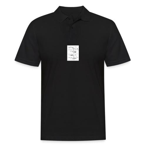 I LOVE MY HAIR - Men's Polo Shirt