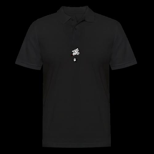 Böser Tiger - Männer Poloshirt