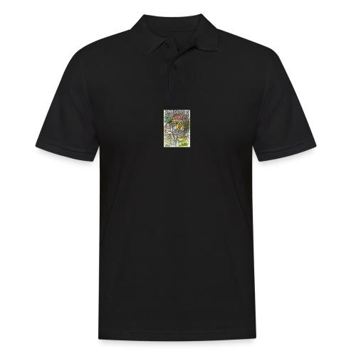 05 02 2018 Baeume in Nachbarsgarten - Männer Poloshirt