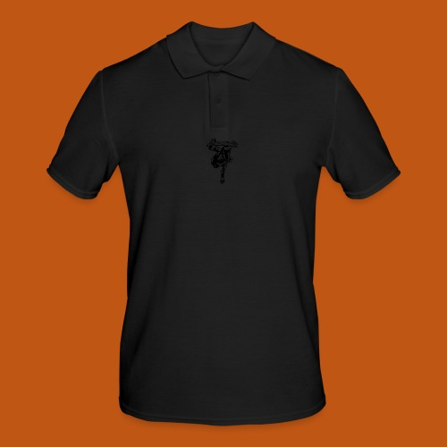 Skater / Skateboarder 03_schwarz - Männer Poloshirt
