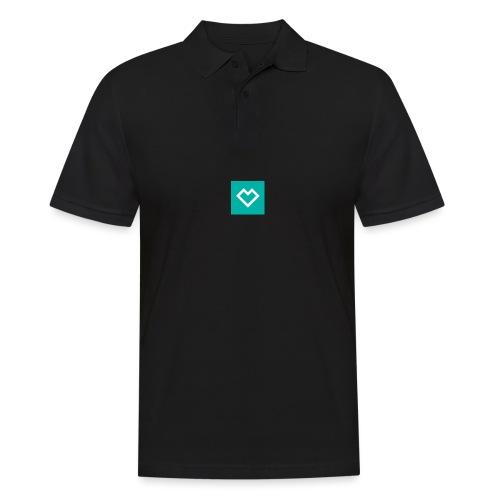 logo social media - Miesten pikeepaita