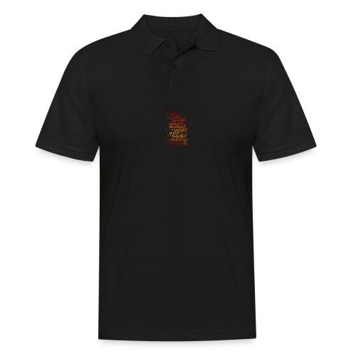 Åndens frukt - Poloskjorte for menn
