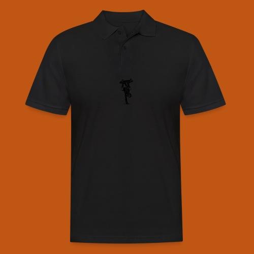 Skater / Skateboarder 02_schwarz - Männer Poloshirt