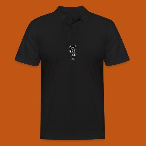 Skater / Skateboarder 02_schwarz weiß - Männer Poloshirt