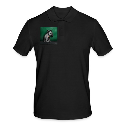 Tapir Baby - Männer Poloshirt
