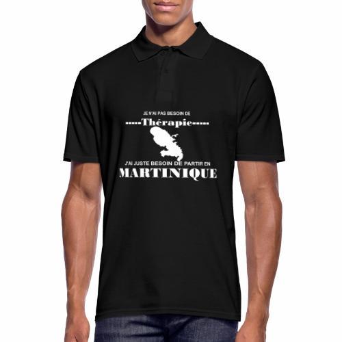 NUL BESOIN DE THERAPIE JUSTE LA MARTINIQUE - Polo Homme