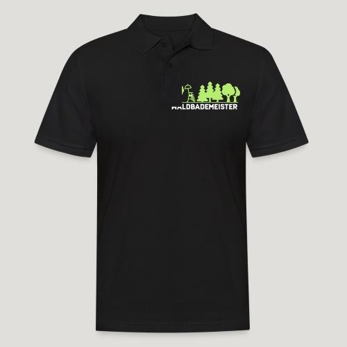 Waldbademeister fürs Waldbaden und Waldbad - Männer Poloshirt