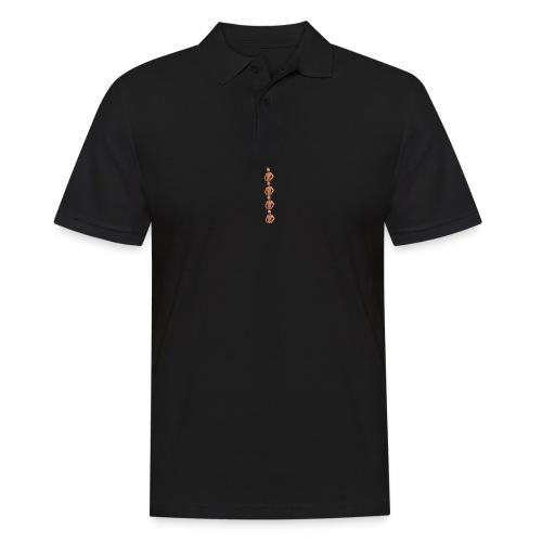 Ein Meme entfaltet sich - Männer Poloshirt