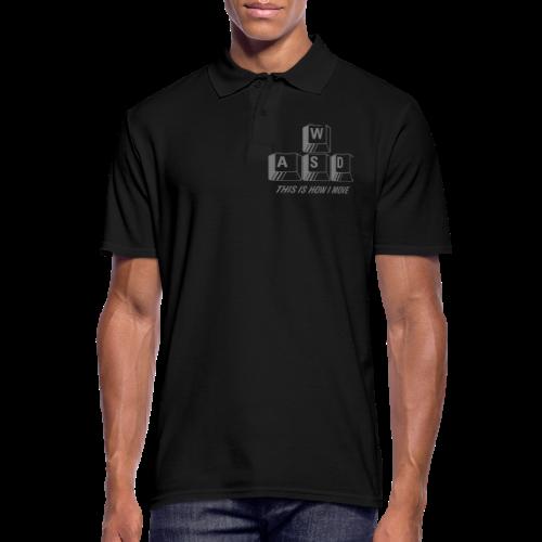 T-shirt Premium, WASD This is how I move - Pikétröja herr