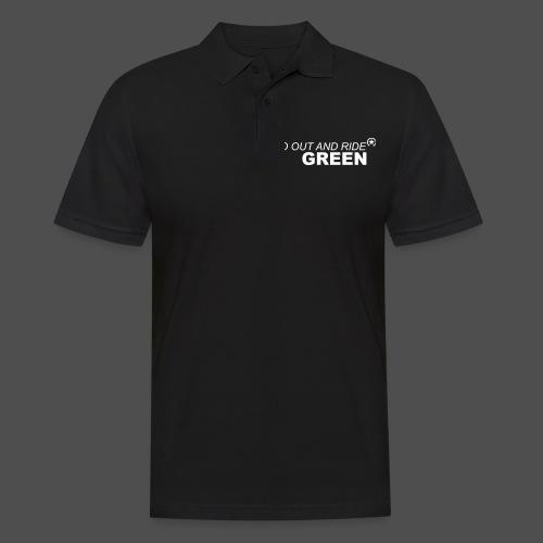 jeździć zielono - Koszulka polo męska