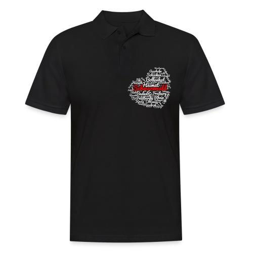 Schwarzwald Herz - Männer Poloshirt