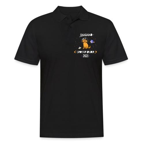 Großer Bruder 2021 Astronauten Hund Planeten - Männer Poloshirt