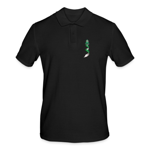 Leuchtturm - Männer Poloshirt