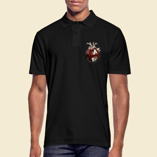 Radball   Cycle Ball Heart - Männer Poloshirt
