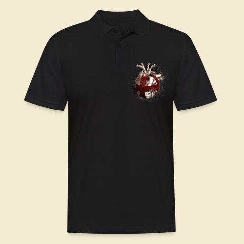 Radball | Cycle Ball Heart - Männer Poloshirt