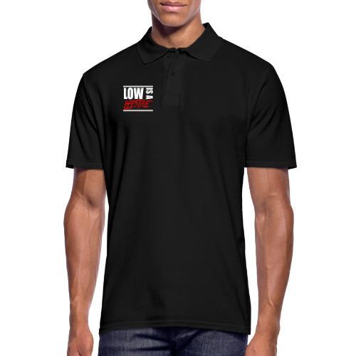 Low is a Lifestyle - Männer Poloshirt